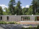 Độc đáo ngôi nhà nằm giữa khu rừng dày tại Mỹ