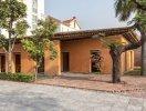 Nhà đất lợp mái tre độc đáo ở Quảng Ninh