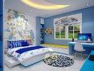 4 màu sắc phù hợp cho phòng trẻ em