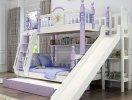 Những mẫu giường tầng đẹp dành cho gia đình đông con