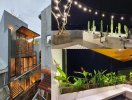 Nhà phố Đà Nẵng sở hữu sân thượng ngắm pháo hoa cực 'chill'